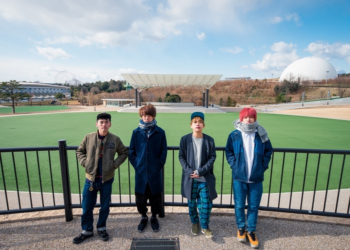 "04 Limited Sazabys、4/1-2に地元 名古屋にて開催する野外フェス""YON FES 2017""最終出演アーティストにブルエン、スカパラら決定。日割りも発表"