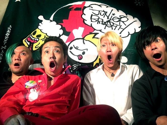 ポジティヴな日本語ギター・ロックを鳴らす大阪発4ピース JUNIOR BREATH、4/12に3rdアルバム『ザ・リビングシングス』リリース決定。東阪でレコ発イベント開催も