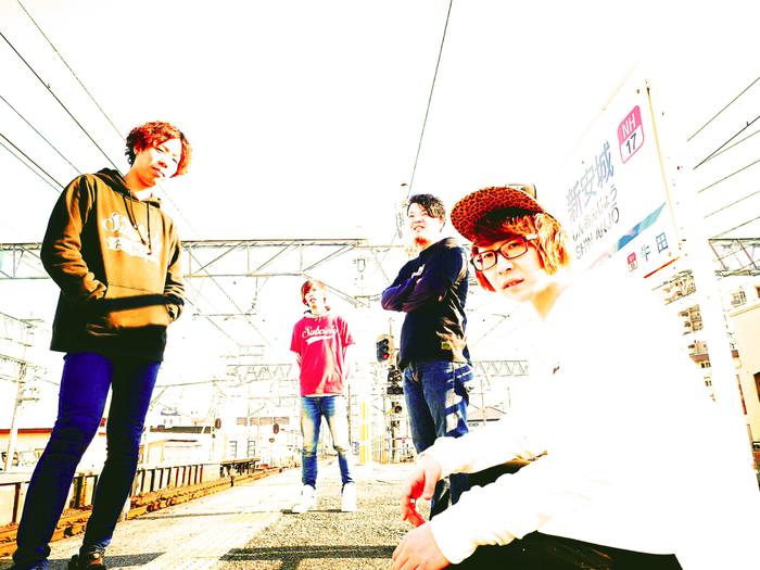 愛知安城発4ピース・メロディック・バンド MISTY、レコ発ツアー東京初日はTHE WASTED、SilberStyleとの3マンに。追加公演も発表