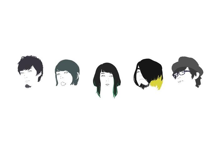 """男女混合5人組バンド アノアタリ、7/12に下北沢LIVEHOLICにて自主企画[""""色彩の展示法""""Vol.2]開催決定。ゲストにねこね、こねこね。、プンプンモーニング、mimic."""