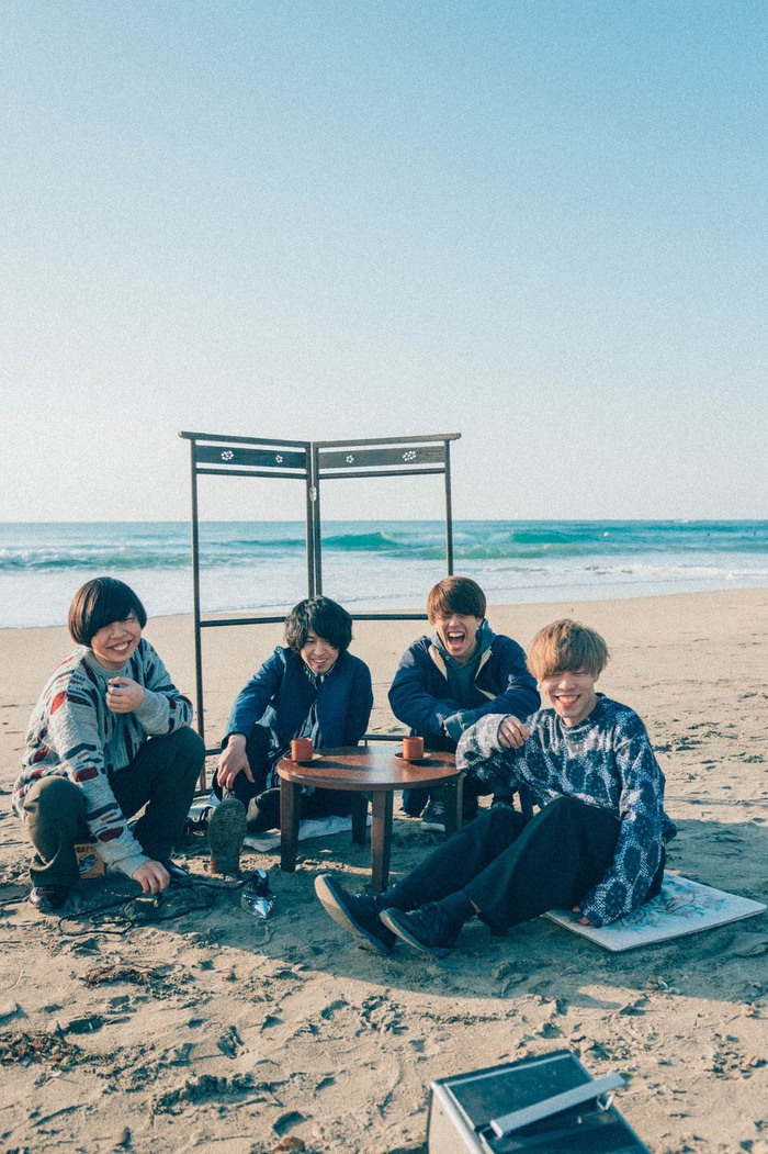 等身大のギター・ロックを鳴らす神奈川発4ピース TEDDY、6/7に2ndミニ・アルバム『20170607』リリース決定。アウトストア・ライヴ含む東名阪ツアーの開催も