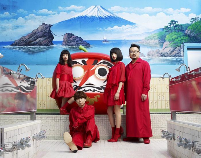 ゲスの極み乙女。、3rdフル・アルバム収録曲「影ソング」のMV公開