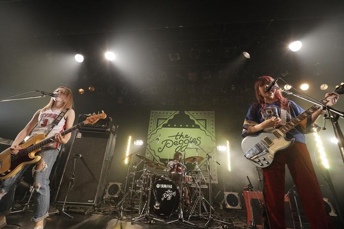 """""""胸キュン""""オルタナ・ポップ・バンド the peggies、9/6に2ndシングル『BABY!』リリース決定。渋谷WWWにて自主企画ライヴの開催も"""