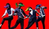 """夜の本気ダンス、色とりどりの""""手""""がメンバーに忍び寄る新曲「TAKE MY HAND」のMV公開"""
