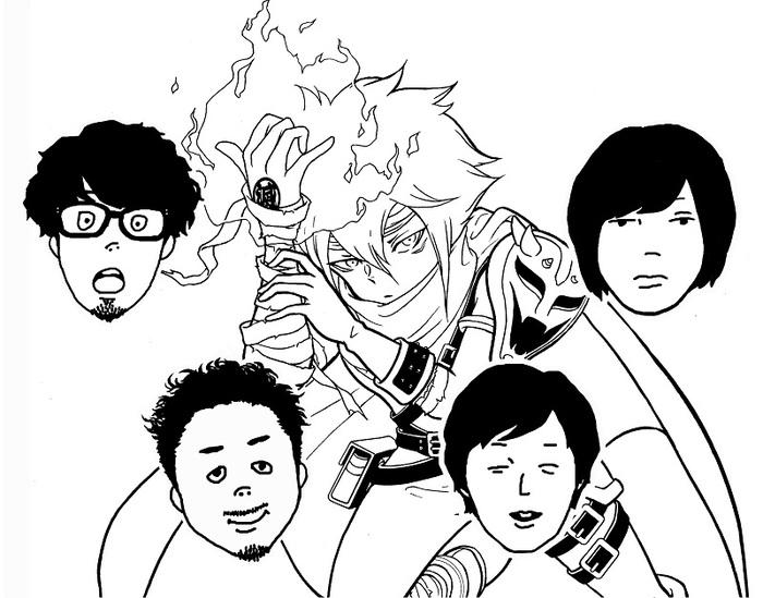 キュウソネコカミ、新曲「NO MORE 劣化実写化」を東阪FM局にて本日初オンエア。ティザー映像公開も