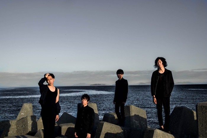 京都の艶ロック・バンド LINE wanna be Anchors、11/1にニュー・ミニ・アルバム『Braille』リリース決定。初のワンマン含むツアー開催も