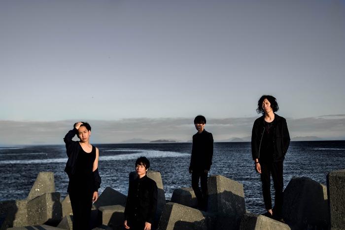 京都の艶ロック・バンド LINE wanna be Anchors、11/1にリリースするニュー・ミニ・アルバム『Braille』より「人生」のMV公開