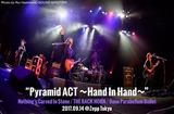 "9mm×バクホン×NCIS東名阪スプリット・ツアー""Pyramid ACT""東京公演のライヴ・レポート公開。濃密且つ開かれたアクトが展開された9/14ツアー・ファイナルをレポート"