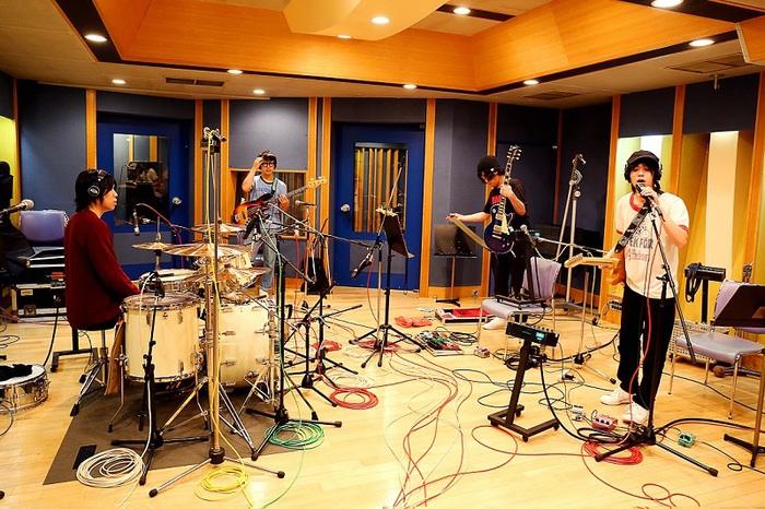 AL(小山田壮平×長澤知之×藤原寛×後藤大樹)、1/17に2ndアルバム『NOW PLAYING』リリース決定