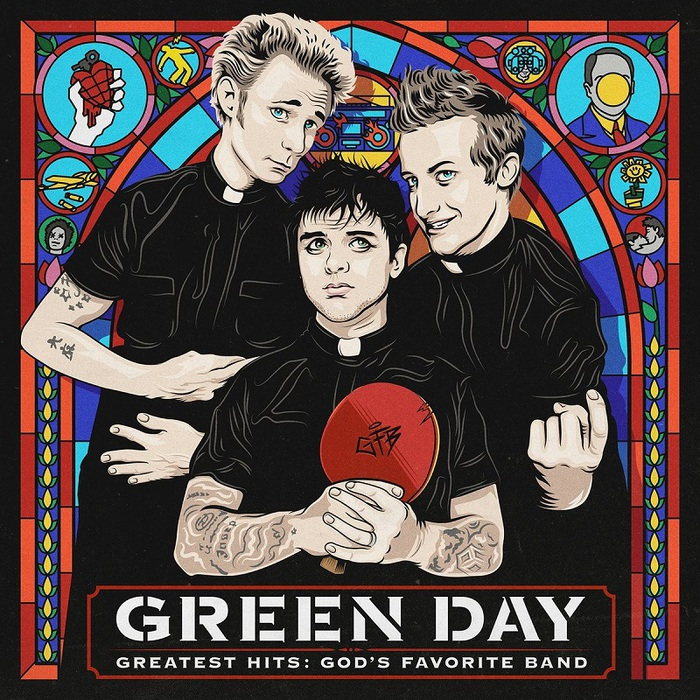 GREEN DAY、本日リリースのベスト・アルバム『Greatest Hits: God's Favorite Band』より新曲「Back In The USA」のMV公開