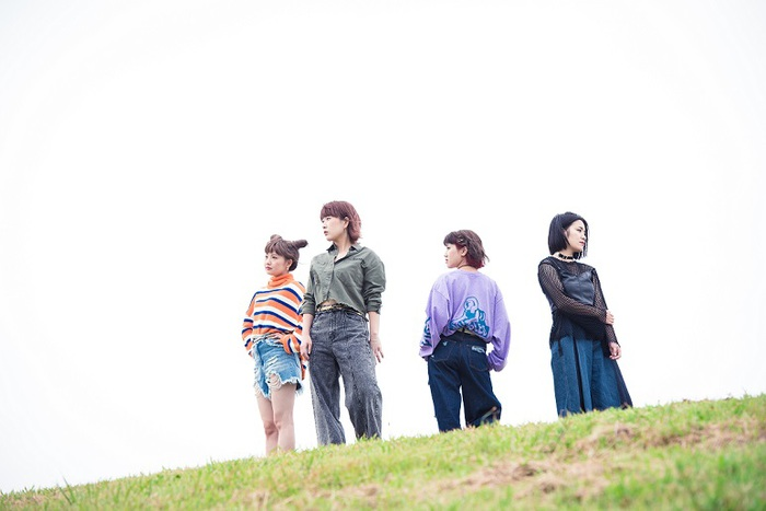 """愛知発ガールズ・ロック・バンド""""ポタリ""""、来年1/17にリリースする2ndフル・アルバム『ポタリの2』より「MUSIC」先行配信スタート"""