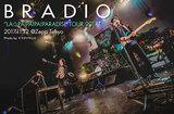 """BRADIOのライヴ・レポート公開。""""愛を育んでやってきた""""――バンドとファンが育んできた愛がひとつの形になったメジャー・デビュー後初ツアー最終日、Zepp Tokyo公演をレポート"""