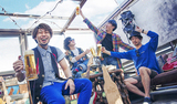 """踊れるオルタナティヴ・レゲエ・バンド 音の旅crew、新レーベル""""TORAVEЯA""""発足。アー写、ロゴ発表&Manhole New Worldとのコラボ決定"""
