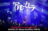 """アルカラのライヴ・レポート公開。9mm滝がサポート参加、仲間たちの助けを借りてタフになったバンドの姿見せた""""盛りだくさん""""のツアー最終日、Zepp DiverCity公演をレポート"""