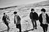 """SHE'S、2ndミニ・アルバム『Awakening』収録「aru hikari」が映画""""犬猿""""劇中歌に決定"""