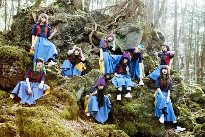 GANG PARADE、5/29リリースのニュー・シングル表題曲「GANG 2」MV公開。新体制アー写&新メンバーふたりの名前も発表