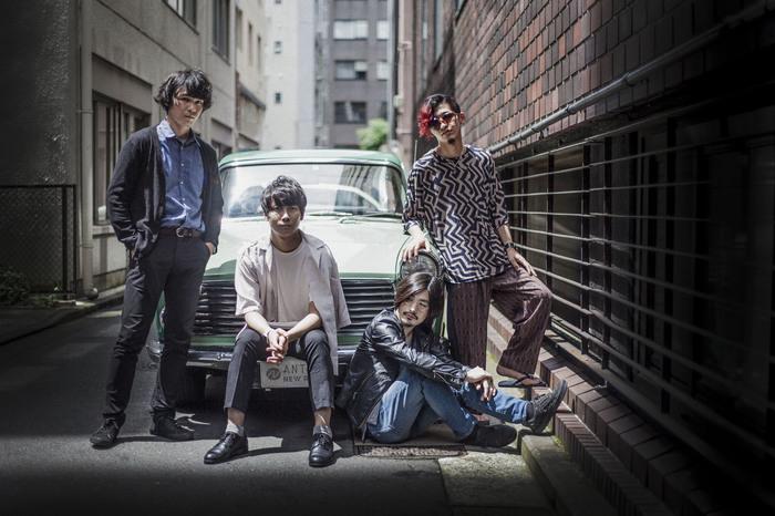 4月より活動休止中のアンテナ、6/27にデジタル・シングル「ずっとベイビー」リリース決定。ジャケ写公開も