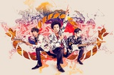 "BRADIO、7/4リリースのニュー・アルバム『YES』ティーザー映像&特典公開。リード曲「Boom! Boom! ヘブン」が日本テレビ系""スッキリ""7月テーマ・ソングに決定も"
