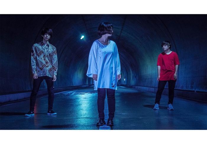 京都発3ピース・バンド Hakubi、8/10に2nd EP『黎明』ライヴ会場限定リリース決定。8月より全国リリース・ツアー開催も