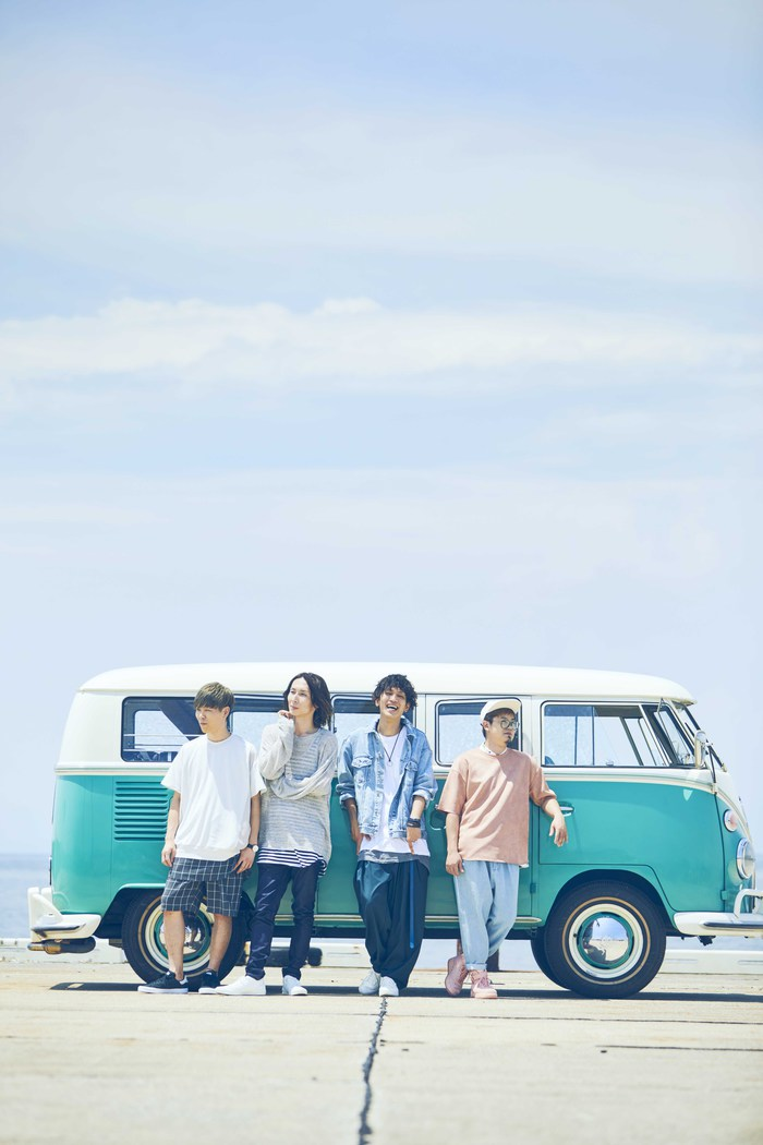 ラックライフ、8/22リリースのメジャー2ndアルバム『Dear days』リード曲「走って」スポット映像&新ヴィジュアル公開