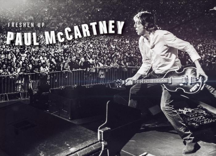 Paul McCartney、ニュー・アルバムを引っ提げ10-11月に来日公演開催決定。初の名古屋公演も