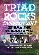 """9/6に""""TRIAD""""主催イベント""""TRIAD ROCKS Showcase 2018""""開催決定。出演アーティストにHalo at 四畳半、The Wisely Brothersら"""