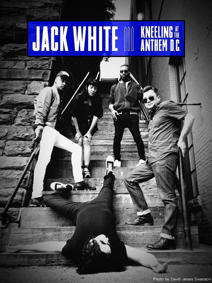 "Jack White、ドキュメンタリー映画""Jack White- Kneeling at The Anthem D.C.""が""Amazon Prime Video""にて独占配信決定"