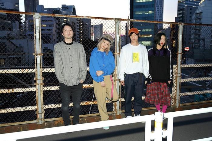 きのこ帝国、9/12リリースのニュー・アルバム『タイム・ラプス』より「金木犀の夜」MV公開