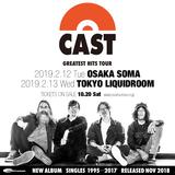 John Power(ex-THE LA'S)率いるブリット・ポップ・レジェンド CAST、来年2月に東阪でグレイテスト・ヒッツ・ツアー開催決定