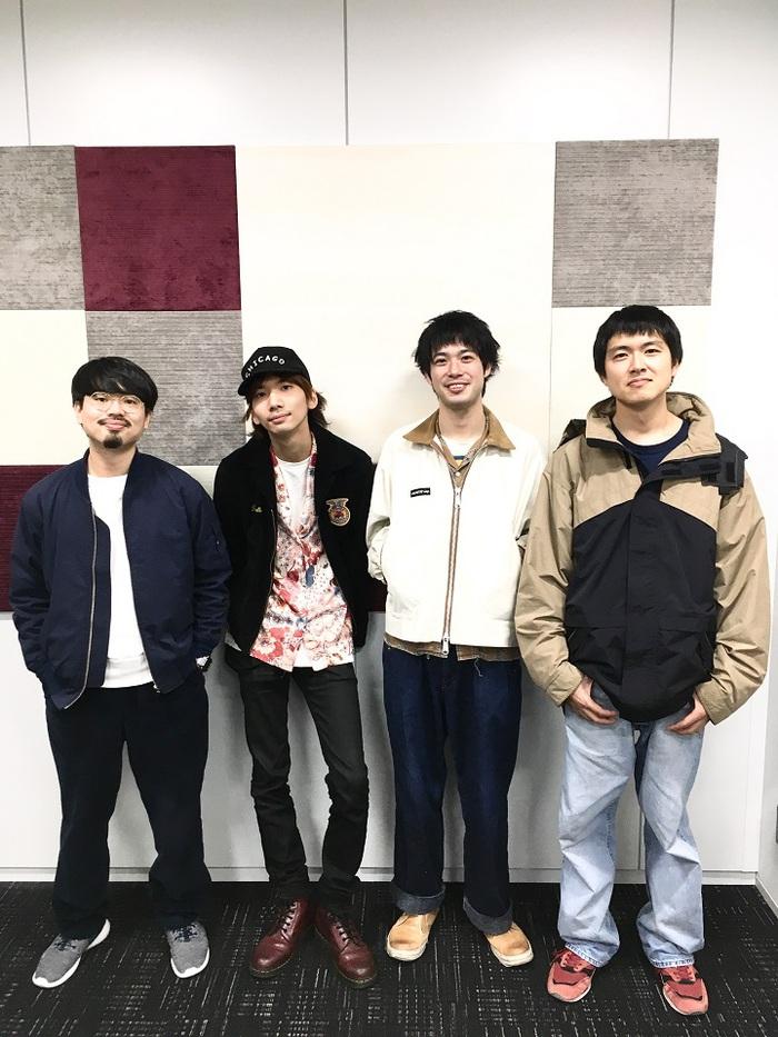 """渡辺大知ほか主演映画""""ギャングース""""、主題歌「CRYBABY」担当ユニット""""The Gangoose""""にハマ・オカモト(OKAMOTO'S)、キョウスケ(爆弾ジョニー)ら参加決定。11/15に配信リリースも"""