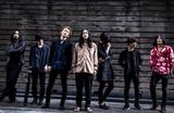 ジラフポット×LONE、来年1/9リリースのスプリット・シングル『Black's ONE』ジャケ写公開。東名阪レコ発ツアー開催も