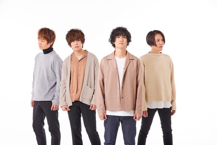 """4人組バンド ab initio、デビュー曲「歓喜」が電子マネー""""nanaco""""イメージ・ソングに決定"""