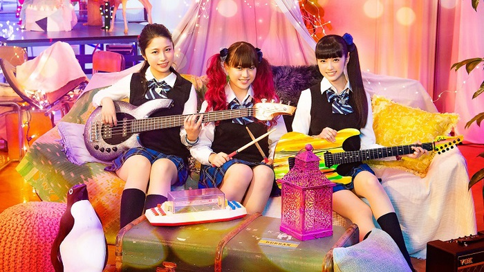 """現役女子高生バンド DROP DOLL、出演映画""""JK☆ROCK""""主題歌「シークレットボイス」4/3にリリース決定。映画予告映像も公開"""