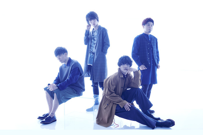 ラックライフ、新アー写&5/8リリースのニュー・シングル『Lily』詳細公開。6月東名阪ワンマン・ツアー開催も発表