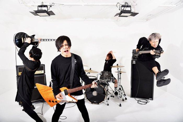 大阪発の4ピース・ロック・バンド 脳内リフレイン、4/10リリースの1stミニ・アルバム『NEVER SAY NEVER』から「一直線」MV公開