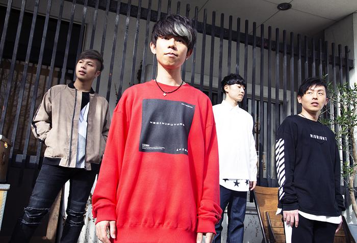 AIRFLIP、ミニ・アルバム『Friends In My Journey』より「Because Of You」MV公開。本日4/17 21時よりSatoshi(Gt/Vo)&Ryan Key(ex-YELLOWCARD)がFM802生出演