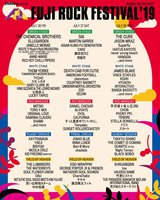"""""""FUJI ROCK FESTIVAL'19""""、第5弾アーティストにHIATUS KAIYOTE、武藤昭平 with ウエノコウジ、MOROHA、チャランポ、ニガミ17才、ADAM at、崎山蒼志ら128組決定。ステージ別ラインナップも"""
