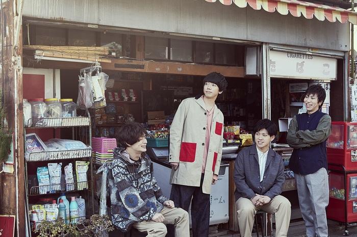 sumika、6/12リリースのあだち充原作アニメOPテーマ収録シングル『イコール / Traveling』アートワーク公開。初回盤ライヴCD収録曲も決定