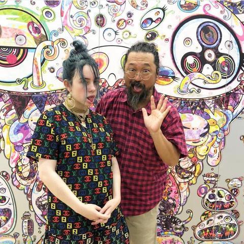 Billie Eilish and Takashi Murakami 1.jpg