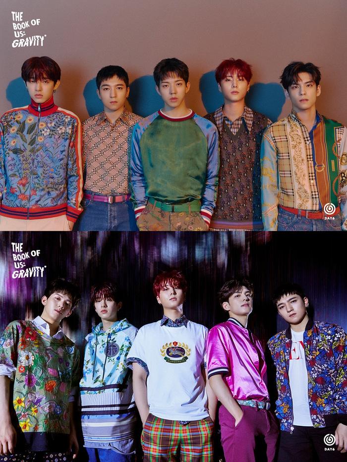DAY6、韓国5thミニ・アルバム『The Book of Us : Gravity』トレンディで華麗なグループ・ティーザー・ヴィジュアル公開
