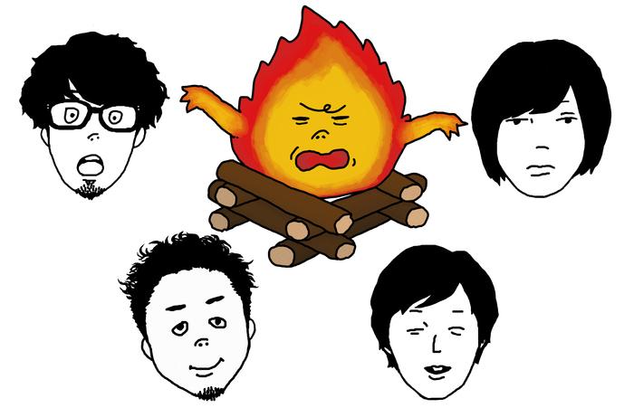 キュウソネコカミ、8/3に開催する完売の初大阪城野音ワンマンをニコ生で独占生中継