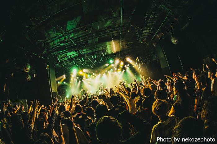 KNOCK OUT MONKEY、6/27渋谷CLUB QUATTROでのツアー最終公演から「sunshine」、「Black or White」、「Flight」ライヴ映像一挙公開
