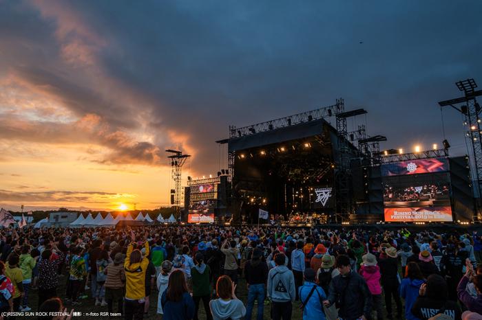 """""""RISING SUN ROCK FESTIVAL 2020 in EZO""""、来年8/14-15に開催決定"""