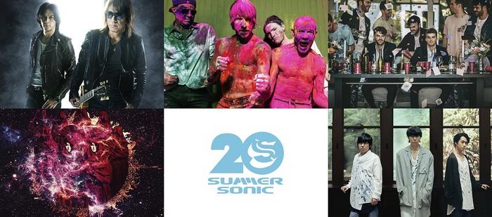 """SUMMER SONIC 2019""、東京公演の模様が10月WOWOWにて合計12時間のボリュームで放送決定"