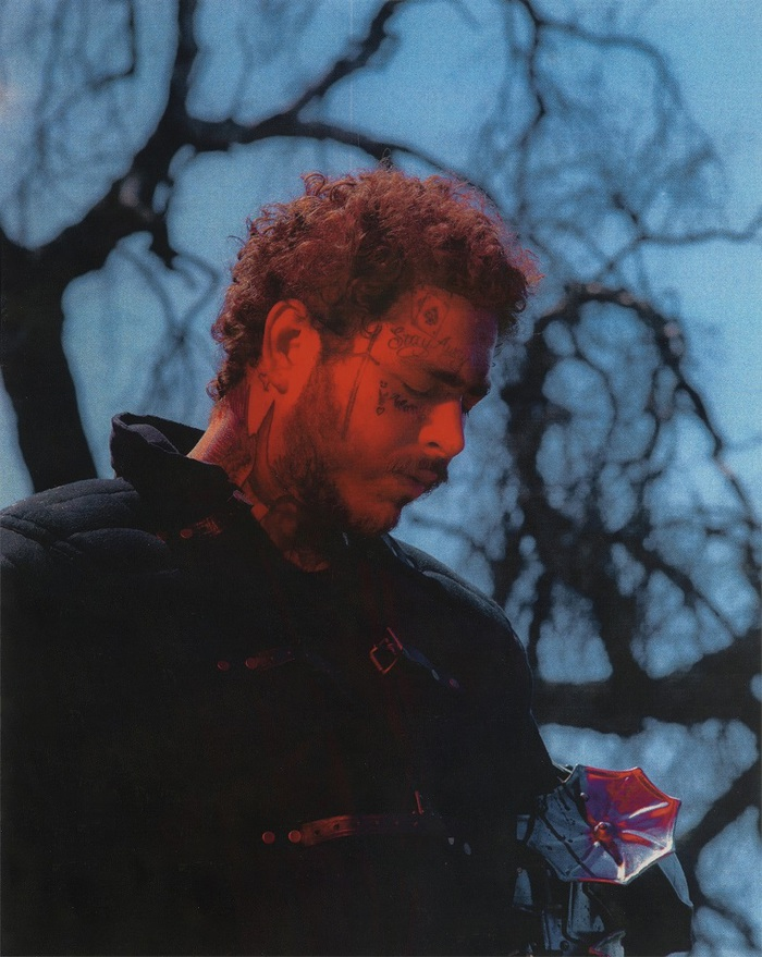 Post Malone、9/6デジタル・リリースの3rdアルバム『Hollywood's Bleeding』より新曲「Circles」中世の騎士に扮したMV公開