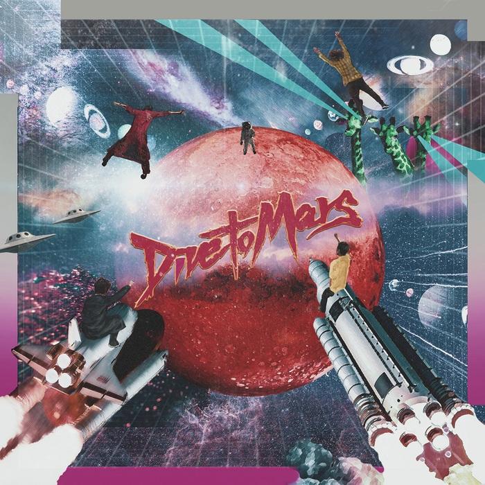 パノラマパナマタウン、ミニ・アルバム『GINGAKEI』リリースをステージ上からAirDropで発表。明日9/28よりリード曲「Dive to Mars」先行配信開始、リリース・ツアー詳細も