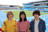 "SHISHAMO、地元川崎での初のスタジアム・ライヴ""SHISHAMO NO 夏MATSURI!!!""を来年8/9にリベンジ開催"