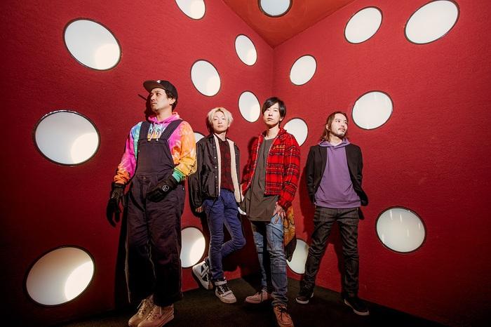 ストレイテナー、10/9リリースのミニ・アルバム『Blank Map』収録楽曲&ジャケット写真解禁