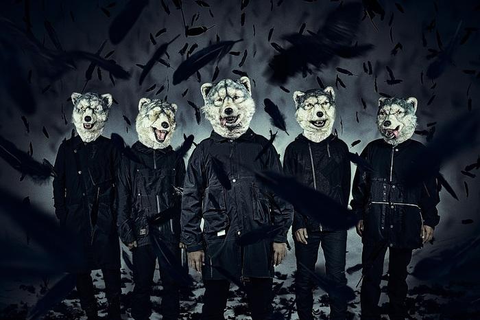 MAN WITH A MISSION、10/23リリースのニュー・シングル『Dark Crow』ジャケ写公開
