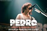 PEDROのライヴ・レポート公開。アルバム・レコ発ツアー最終日、アユニ・Dの心の変化や今のモードを音源以上に伝え、PEDROの音世界で魅了したTSUTAYA O-EAST公演をレポート